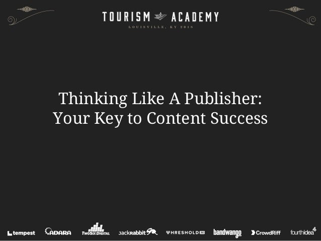 Thinking Like A Publisher: Your Key to Content Success