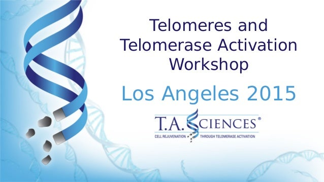 Telomeres and Telomerase Activation Workshop Los Angeles 2015