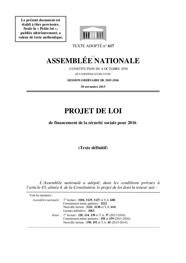 TEXTE ADOPTÉ n° 617 __ ASSEMBLÉE NATIONALE CONSTITUTION DU 4 OCTOBRE 1958 QUATORZIÈME LÉGISLATURE SESSION ORDINAIRE DE 201...