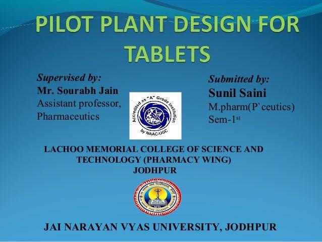 Supervised by: Mr. Sourabh Jain Assistant professor, Pharmaceutics Submitted by: Sunil Saini M.pharm(P`ceutics) Sem-1st LA...