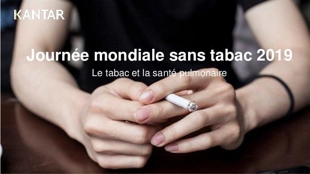 Journée mondiale sans tabac 2019 Le tabac et la santé pulmonaire