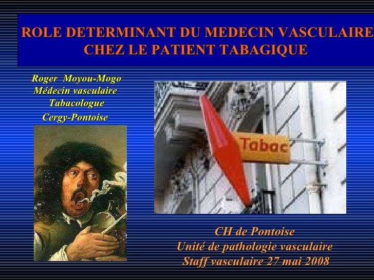 Tabac et médecins vasculaire