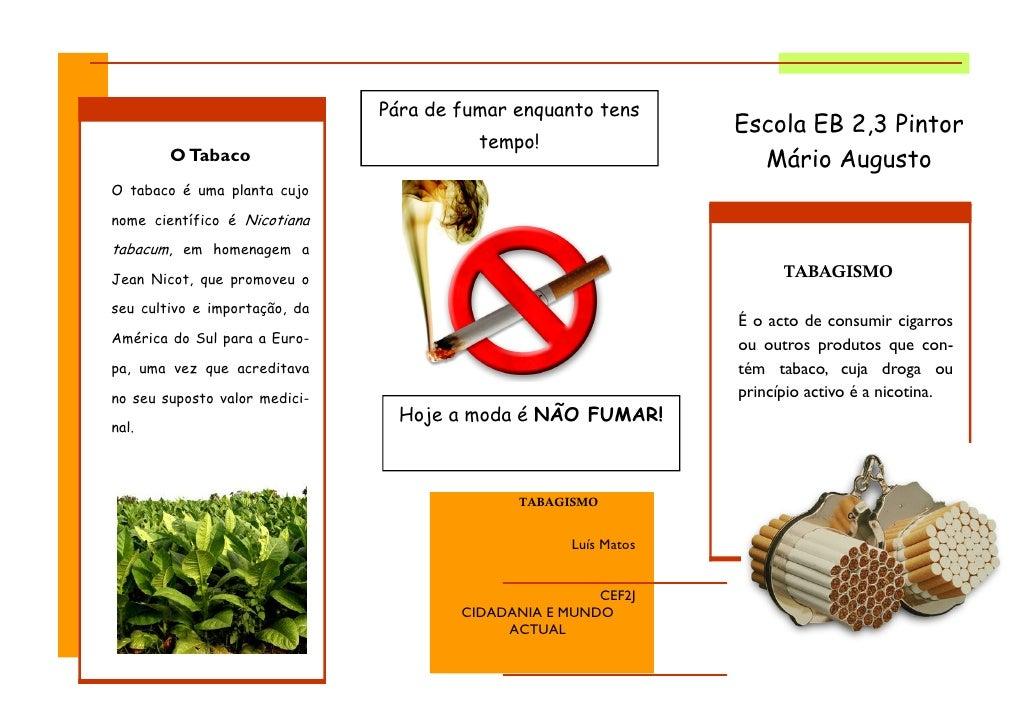 Pára de fumar enquanto tens                                                                  Escola EB 2,3 Pintor         ...