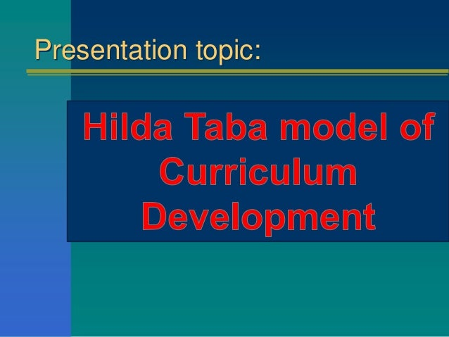 hilda taba critical thinking strategies