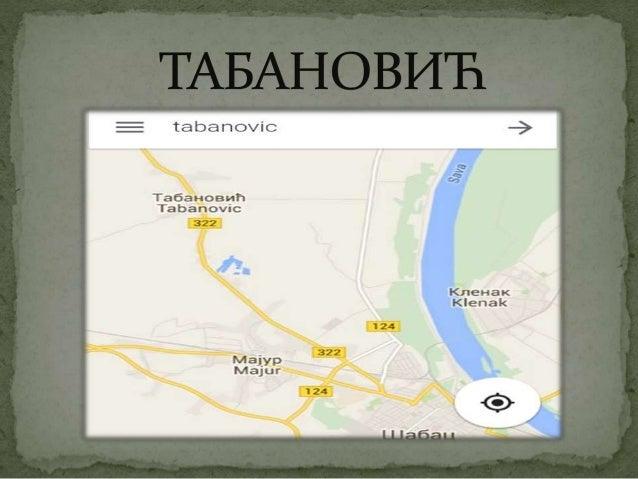 -Табанобић је насеље у Србији у општини Шабац у Мачванском округу