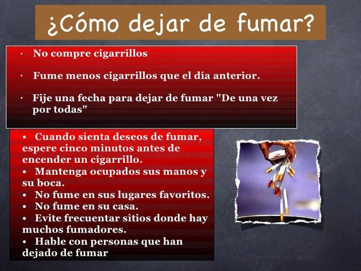 El foro a dejar fumar con tabeksom las revocaciones