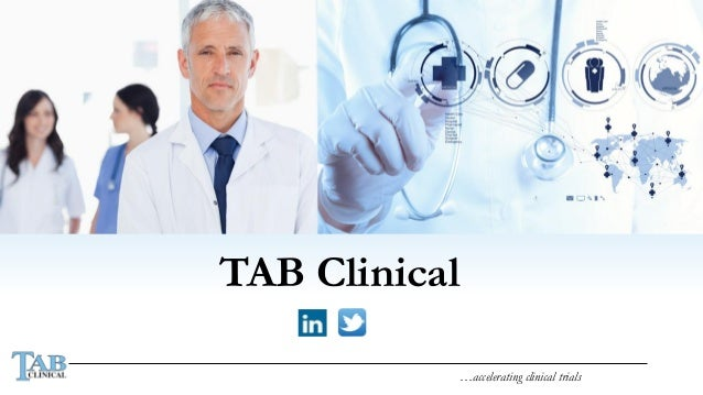 …accelerating clinical trials TAB Clinical