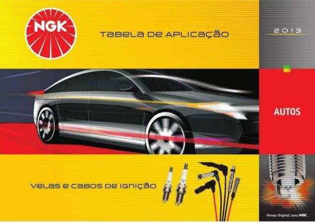 1 VELAS E CABOS DE IGNIÇÃO NGK 2013 FIAT FIAT 147 / Panorama / Rallye 1050 / 1300 Gasolina / GNV BP5ES BPR5EY-D / BPR5EY 0...