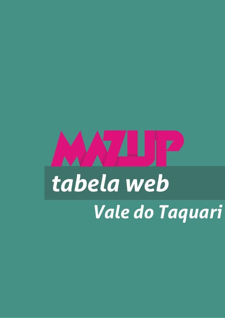 tabela web   Vale do Taquari