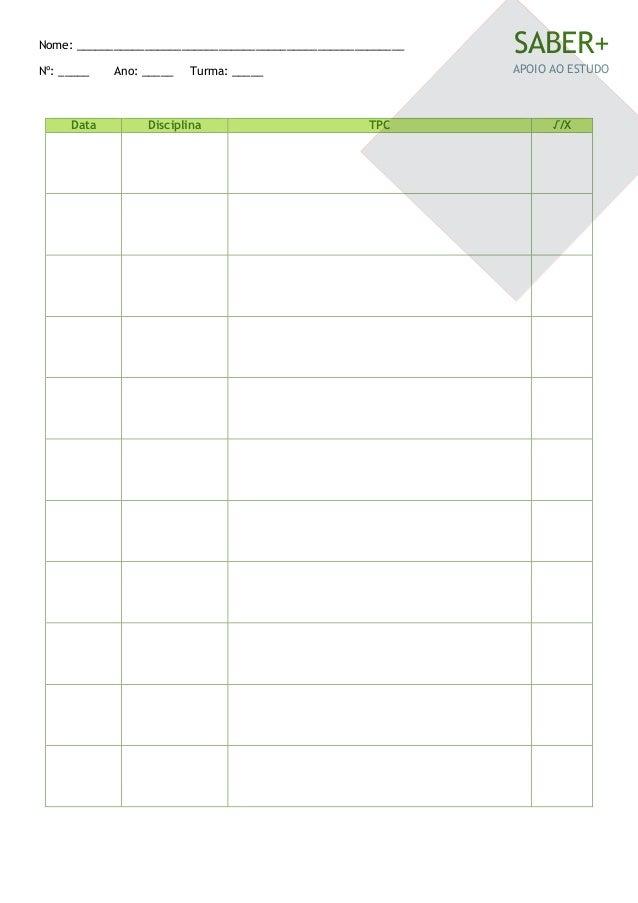 Tabela Tpc