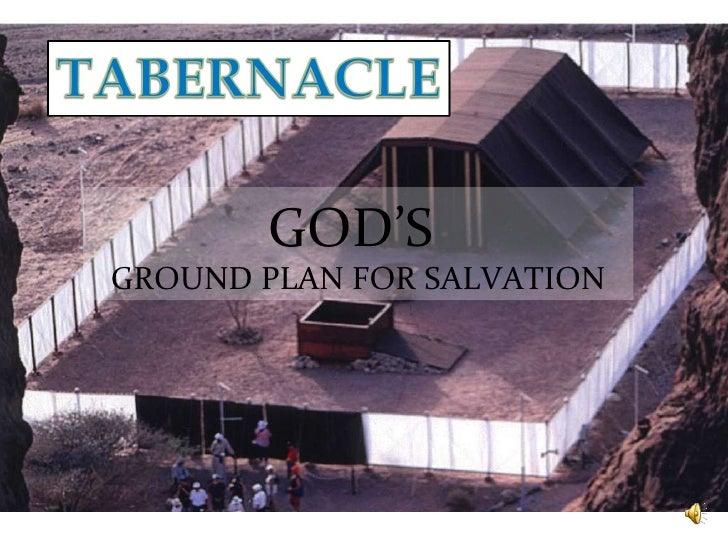 GOD'S  GROUND PLAN FOR SALVATION