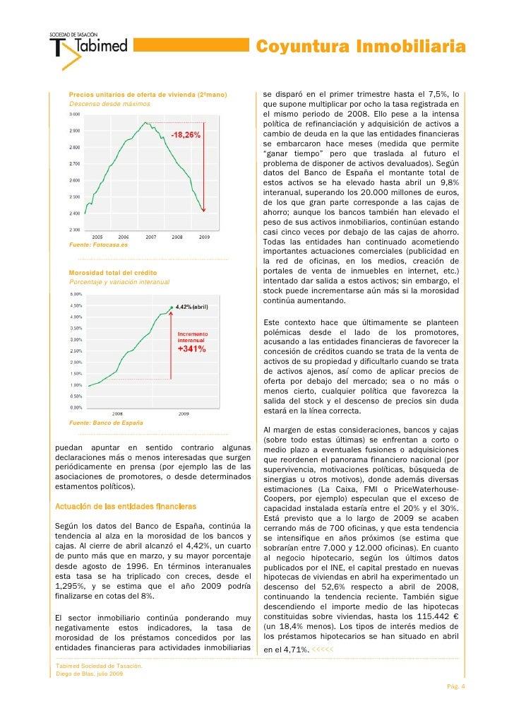 Coyuntura Inmobiliaria        Precios unitarios de oferta de ...