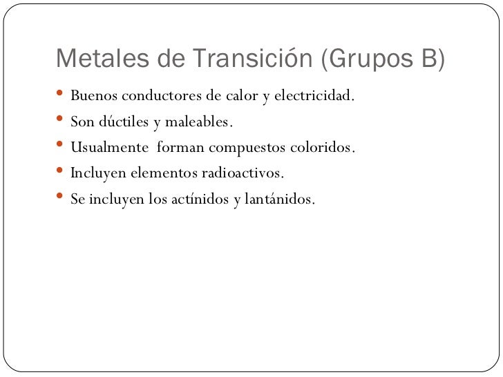 Tabla periodica 21 metales de transicin grupos b urtaz Gallery
