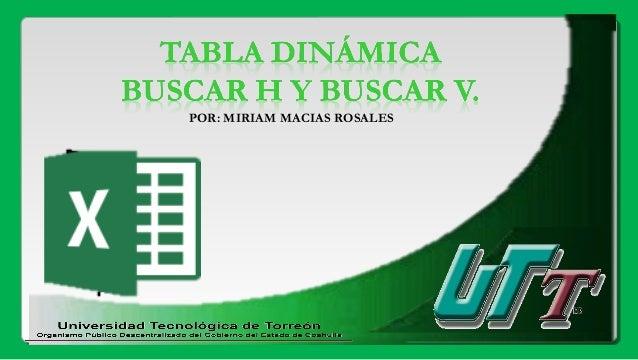 POR: MIRIAM MACIAS ROSALES
