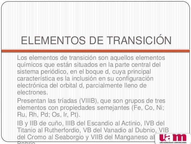 Tabla peridica elementos de transicin urtaz Image collections