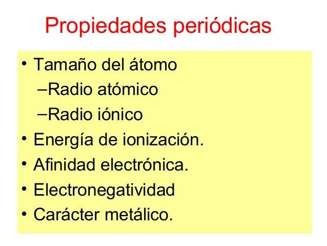 Tabla peridica y propiedades periodicas aumento radio inico urtaz Choice Image