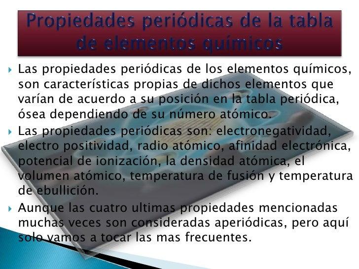 Propiedades peridica de los elementos 5 las propiedades peridicas de los elementos qumicos urtaz Image collections