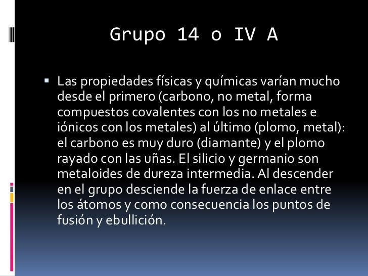 Grupo 14 tabla periodica carbonoideos carbono cbr formas alotrpicasbr urtaz Gallery