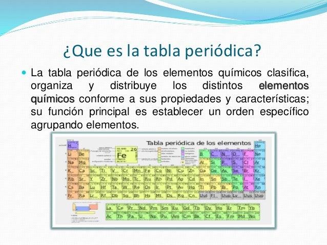 Tabla peridica de los elementos qumicos 5 que es la tabla peridica la tabla peridica de los elementos qumicos clasifica organiza urtaz Image collections