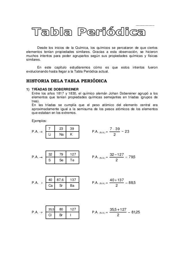 Tabla peridica ficha aplicacion desde los inicios de la qumica los qumicos se percataron de que ciertoselementos tenan tabla peridica de los elementos urtaz Image collections