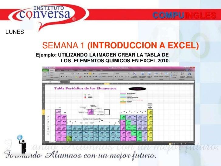 tabla periodica - Tabla Periodica De Los Elementos Quimicos En Excel