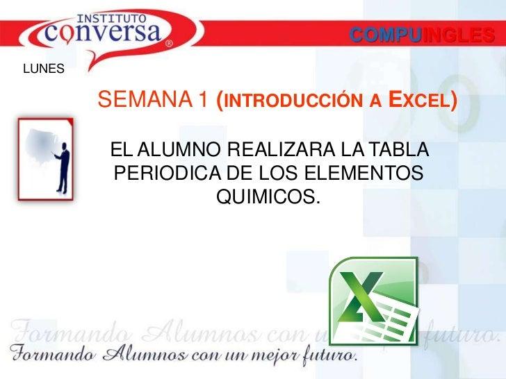 Tabla periodica tabla periodica 1 excel 2010practicas semana 1 2 urtaz Choice Image