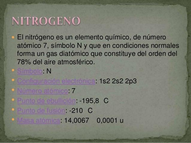 Tabla periodica 9 el nitrgeno es un elemento urtaz Choice Image