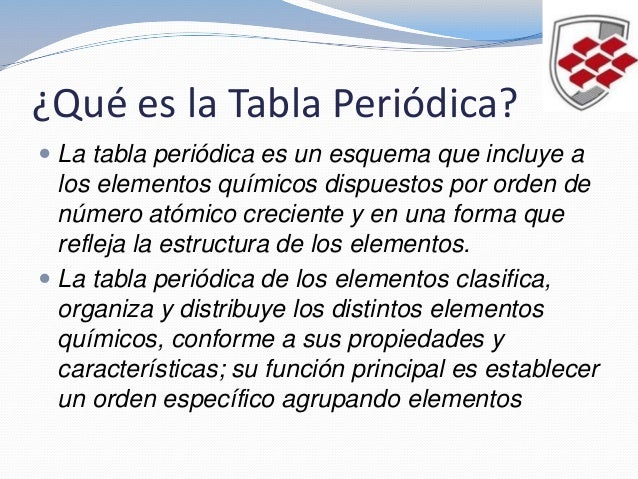 qumica 1 segundo parcial tabla periodica