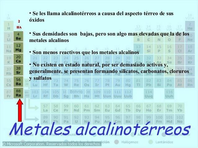 Tabla periodica1 11 iaia 21 metales alcalinotrreos urtaz Choice Image