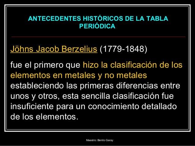 tabla periodica 1 maestro benito garay 2 - Quien Elaboro La Tabla Periodica De Los Elementos Quimicos