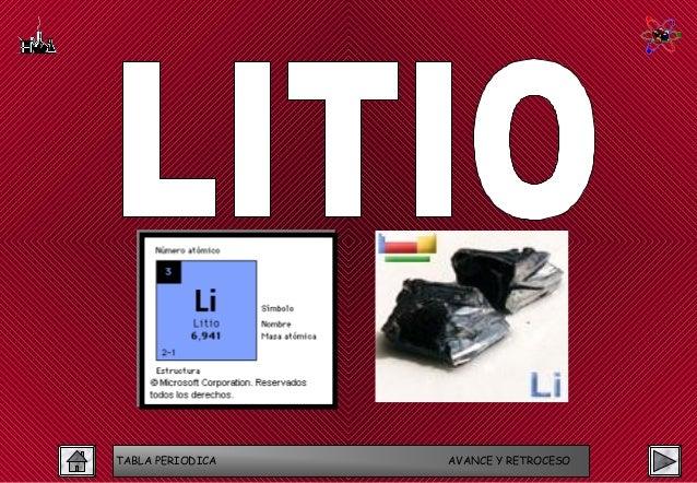 Tabla periodica 13 638gcb1423910348 tabla periodica avance y retroceso 13 litio urtaz Gallery