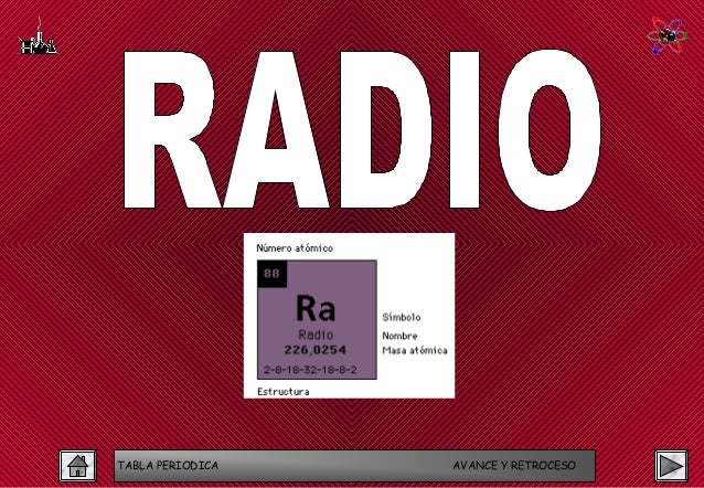 Tabla periodica tabla periodica avance y retroceso 63 radio urtaz Choice Image