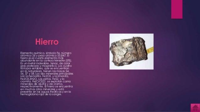 hierro elemento qumico - Tabla Periodica De Los Elementos Hierro