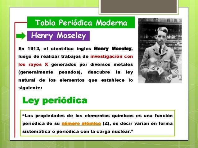 Tabla peridica tabla peridica moderna henry moseley urtaz Image collections
