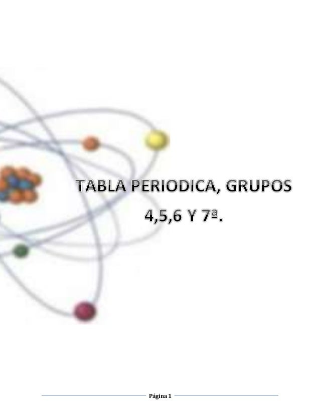 Tabla periodica tabla periodica pgina1 pgina2 1 urtaz Choice Image