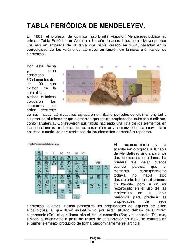 Tabla periodica 10 pgina 10 tabla peridica urtaz Choice Image