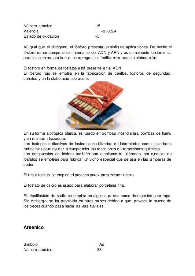 arsnico smbolo as nmero atmico 33 19 - Tabla Periodica Sodio Grupo