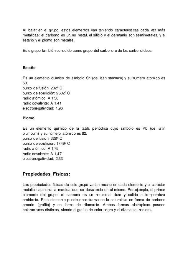 5 - Tabla Periodica Completa Punto De Fusion