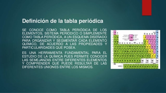 Tabla periodica romina definicin de la tabla peridica urtaz Image collections