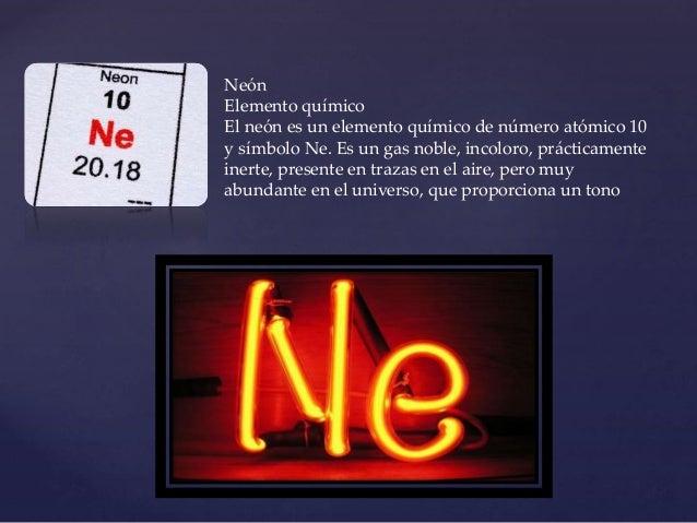 nen elemento qumico
