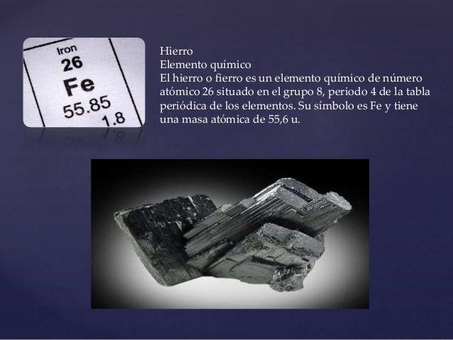 Tabla periodica hierro urtaz Choice Image