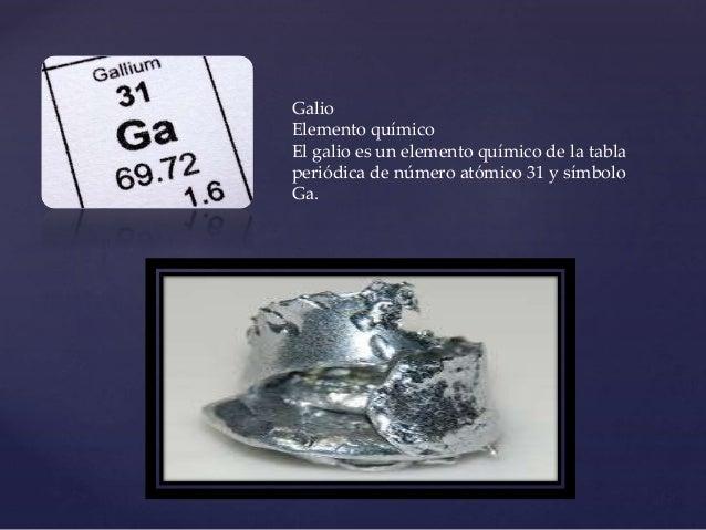 galio elemento - Tabla Periodica De Los Elementos Galio