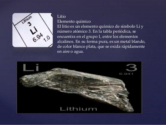 Tabla periodica litio urtaz Gallery