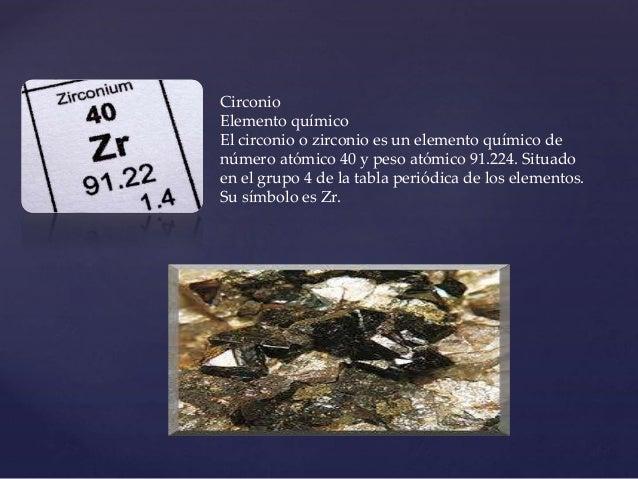 Tabla periodica circonio urtaz Choice Image