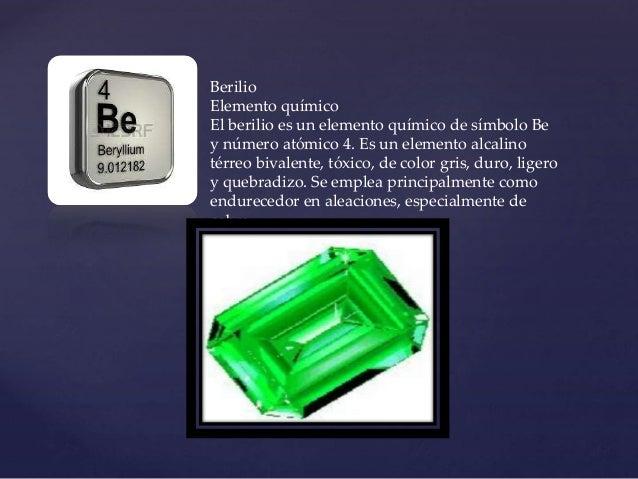 Tabla periodica berilio urtaz Gallery