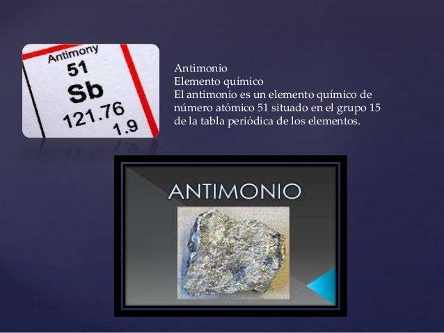 Tabla periodica antimonio elemento qumico urtaz Gallery