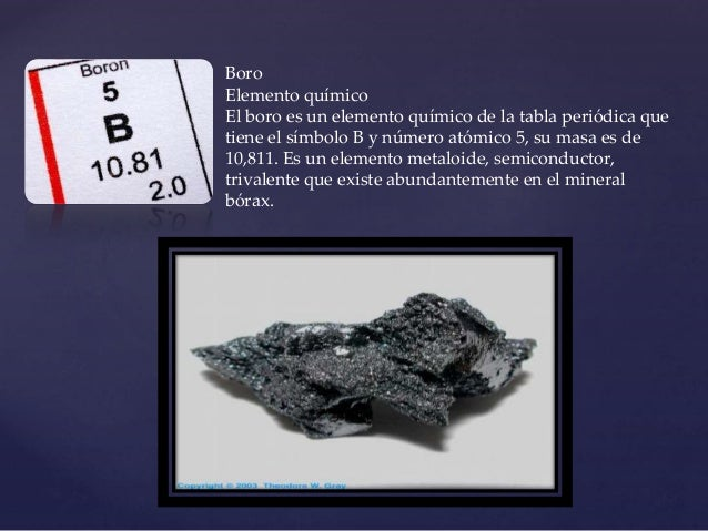 Tabla periodica boro elemento qumico urtaz Image collections