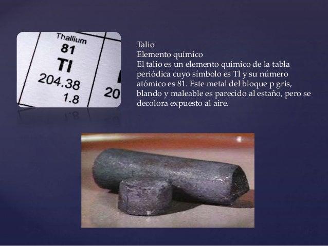 Tabla periodica 68 talio elemento qumico urtaz Image collections
