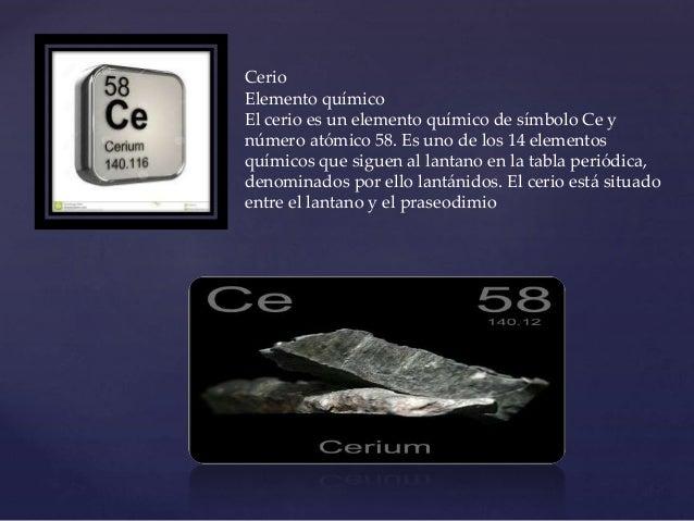 Tabla periodica 79 cerio elemento urtaz Image collections