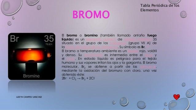 Tabla peridica tabla peridica de los elementos bromo urtaz Images